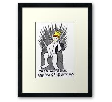 A Game Of Wild Things Framed Print