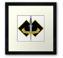 2 Commando Framed Print