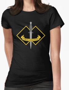 2 Commando Womens Fitted T-Shirt