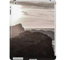 Monochrome Sunset iPad Case/Skin