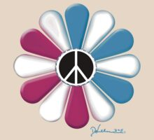Peace Power Flower T-Shirt
