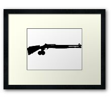 Shotgun Framed Print