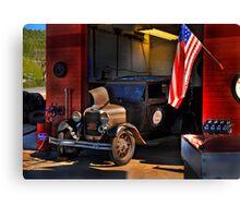 Smalltown USA Canvas Print