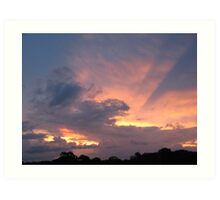 At the days end...... Art Print
