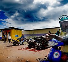 Rwandan Courier by Melinda Kerr