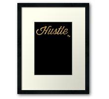 Hustle Dabs Framed Print