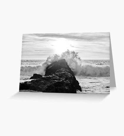 Pacific Zen Greeting Card