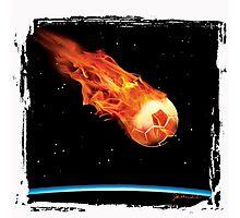 Soccer T-Shirt Photographic Print