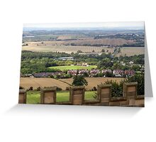 "UK: ""Bolsover View"", Derbyshire Greeting Card"