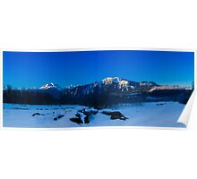 MT Begbie one winter morning  Poster