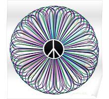 Burst of Peace Artwork Poster