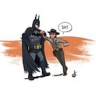 Batman VS John Marston by Meotwister