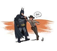 Batman VS John Marston by Meotwister