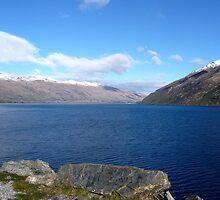 Mysterious Lake Wakatipu by Magee