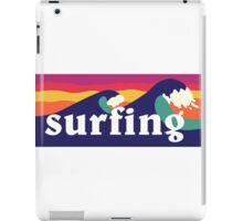 Surfing - Mashup iPad Case/Skin