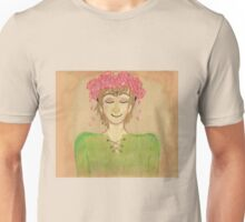 Flower crown hiccup Unisex T-Shirt