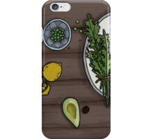 Eat your veg iPhone Case/Skin