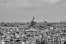 Paris Rooftops, France #3 by Elaine Teague