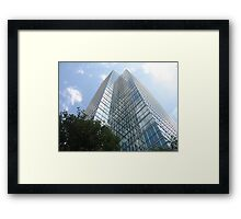 Toronto Skyscraper Framed Print