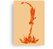 Charmander, use Flamethrower! Canvas Print