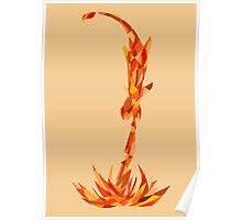 Charmander, use Flamethrower! Poster