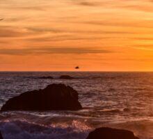 Sonoma Coast Sunset Sticker