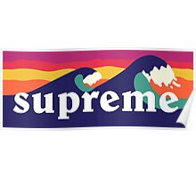 Supreme Waves Poster