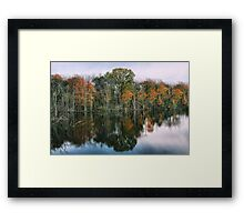 Bitter Cold Fall Day Framed Print