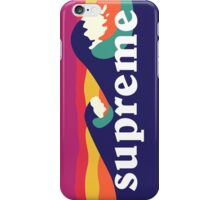 Supreme Waves iPhone Case/Skin