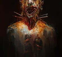 Zombie Clown by Mitchell Nolte