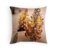 Desert Hyacinth Throw Pillow