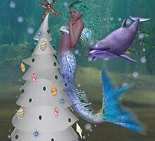 Mermaid Christmas by LoneAngel