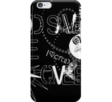 God Save The QVeen - Vivienne Icons (black version) iPhone Case/Skin