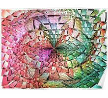 Portals Crystal Punch Bowl  (UF0275) Poster
