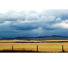 Foothills Sky Photographic Print