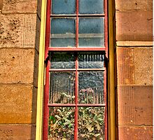 Inside Looking Out - Gladesville Hospital - The HDR Series by Philip Johnson