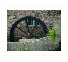 The Old Mill Wheel © Art Print