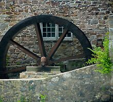 The Old Mill Wheel © by Mary Campbell