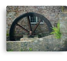 The Old Mill Wheel © Metal Print