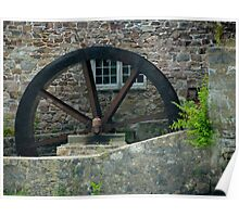 The Old Mill Wheel © Poster