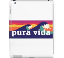 Pura vida iPad Case/Skin