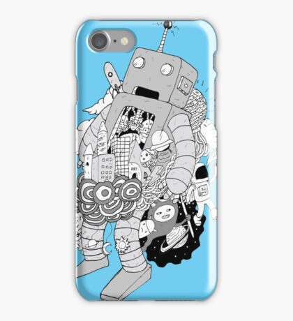Robot take over iPhone Case/Skin