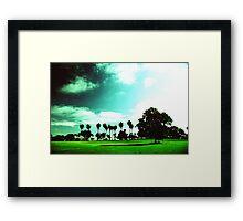 Bay Park San Diego Framed Print