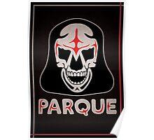 Parque Mask Design Poster
