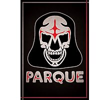 Parque Mask Design Photographic Print