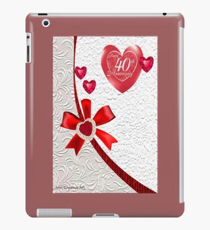 40th Anniversary iPad Case/Skin