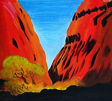 Colours of the Outback by marlene veronique holdsworth