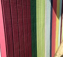 Painted Fence by OceanPeaceful