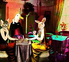 Game Night at Lady Rabbit's by Nadya Johnson