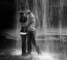 Waterfall kiss by RDJones